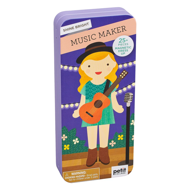 Music Maker Travel Magnetic Dress Up