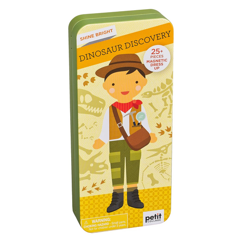 Dinosaur Discovery Travel Magnetic Dress Up