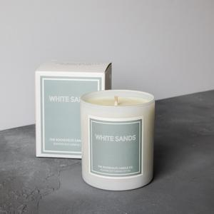 White Sands Boxed Candle