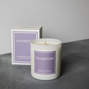 Yellowstone Boxed Candle