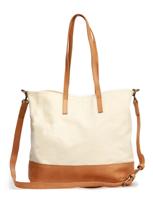 Canvas Abera Crossbody Tote