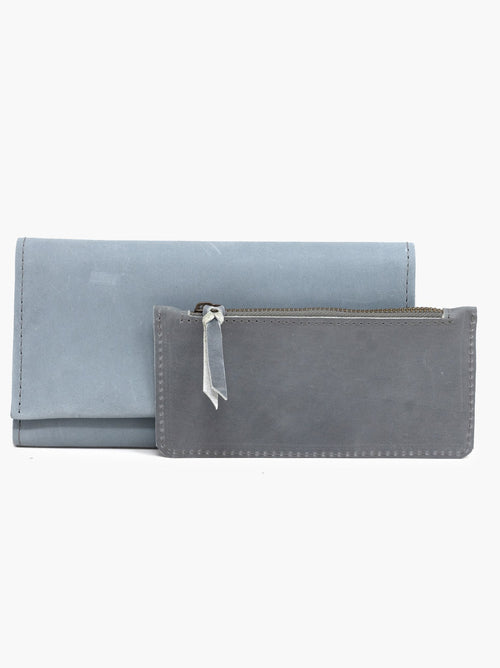 Debre Deluxe Wallet in Ice Blue