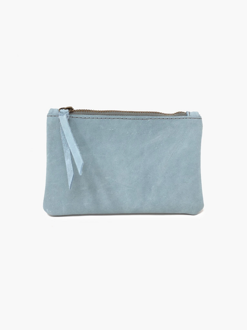 Martha Coin Pouch in Ice Blue