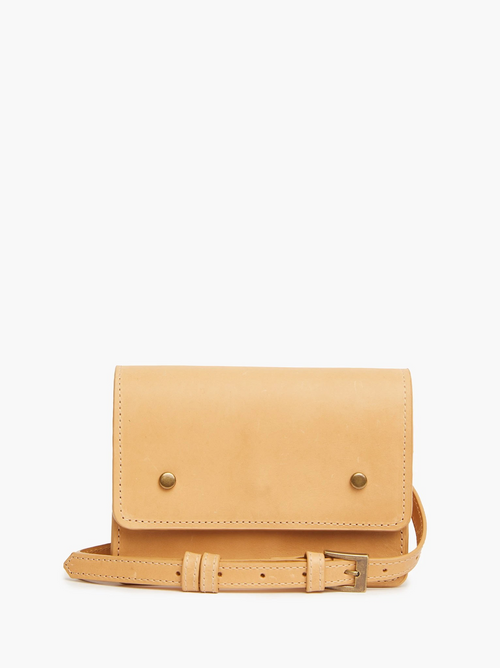 Mare Convertible Belt Bag in Fawn