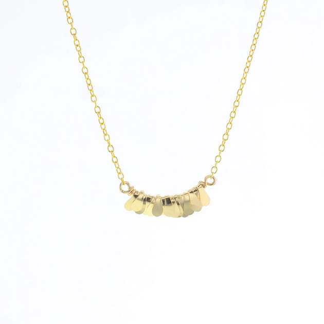 Mesi Necklace in Gold
