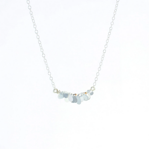 Mesi Necklace in Silver