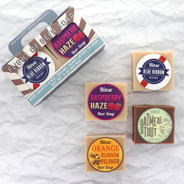 Flight of Beer Soap
