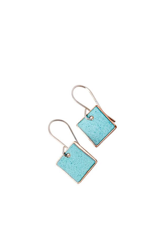 Small Square Earrings