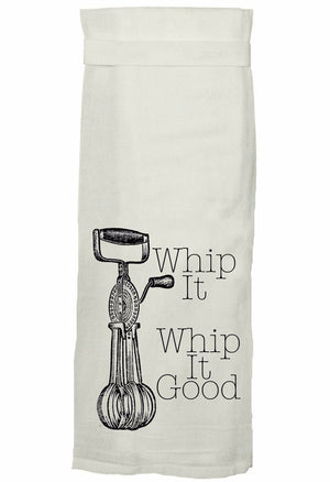 Whip It Hand Towel