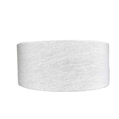 White Tube Turban Headband