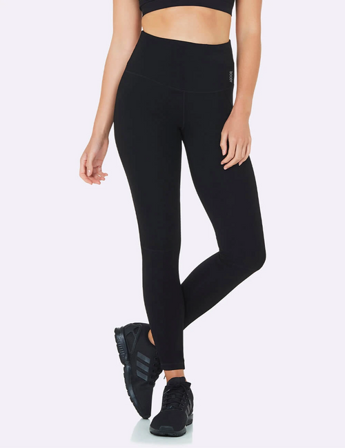 Active High-Waisted Full Length Leggings 2.0 in Black