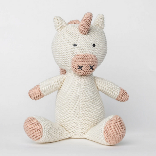 Knit Organic Cotton Unicorn