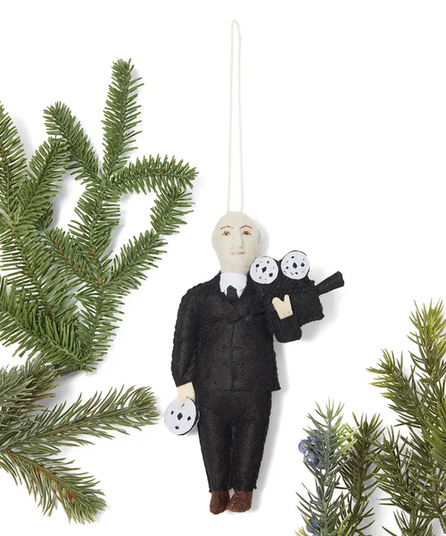 Alfred Hitchcock Ornament