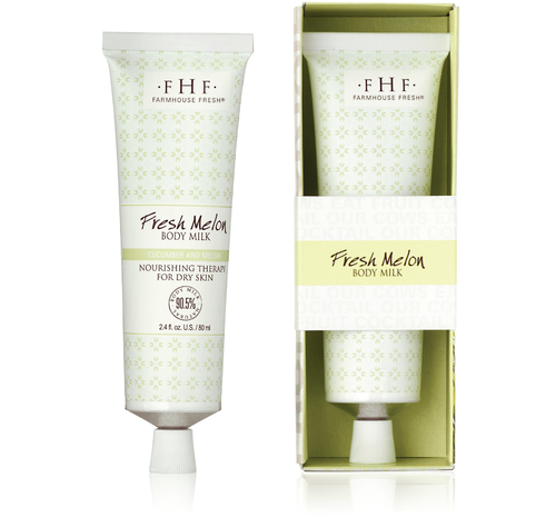 Fresh Melon Body Milk Travel Tube