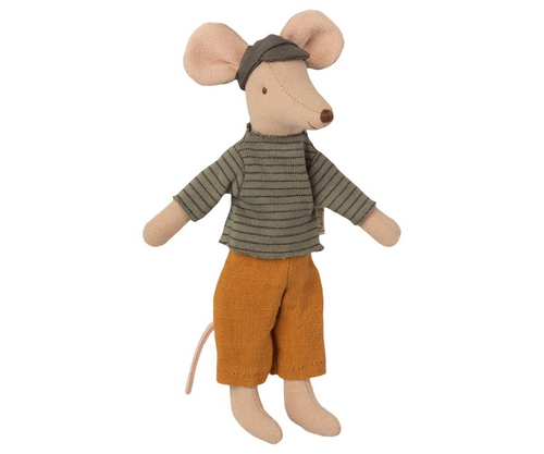 Dad Mouse with Yellow Pants