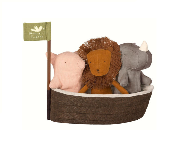 Maileg Noah's Ark Plush Green Roost Culpeper Virginia Boutique