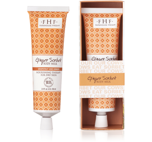 Ginger Sorbet® Body Milk Travel Lotion