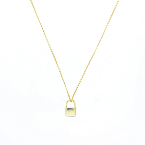 Darby Necklace in Gold