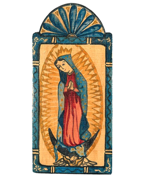 "Pocket Saint | Guadalupe - ""All Needs Compassion"""