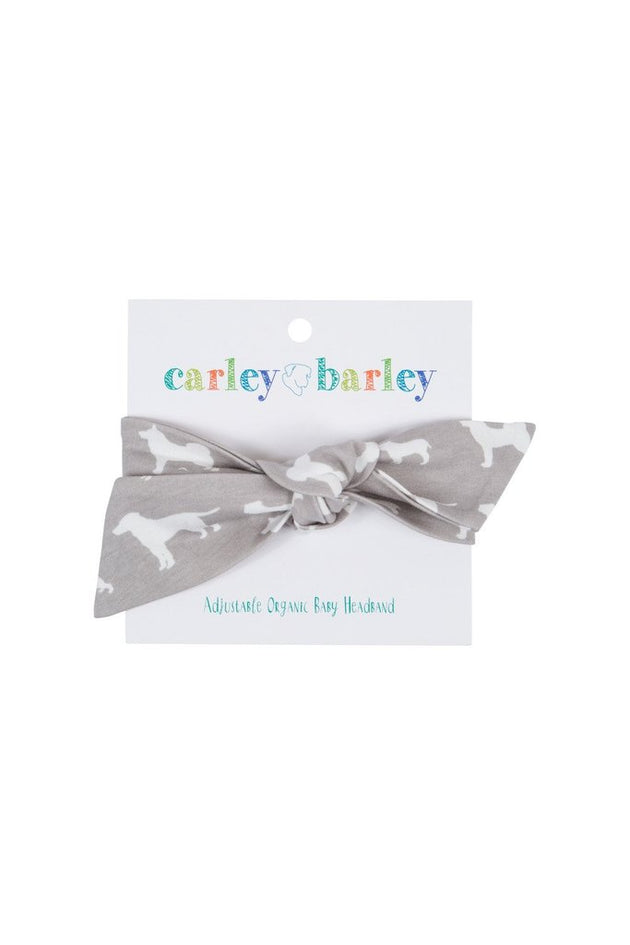Baby Headband in Must Love Dogs