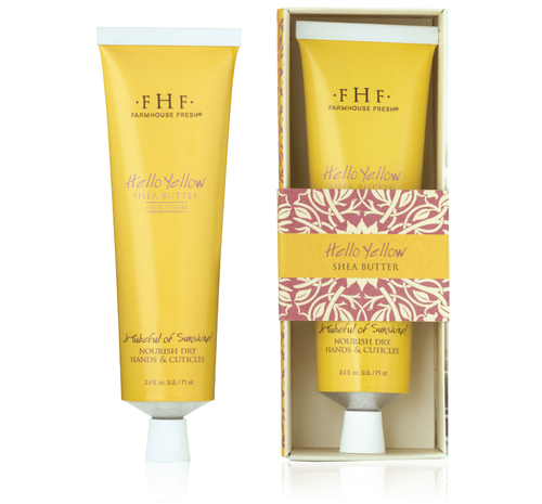 Hello! Yellow Shea Butter Hand Cream