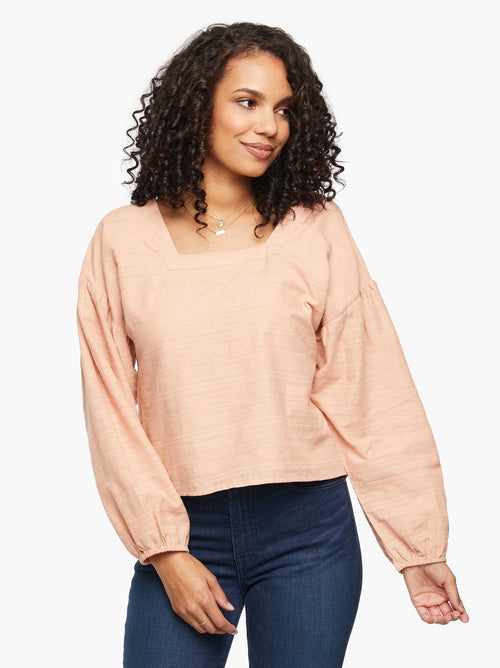 Anita Blouse in Blush