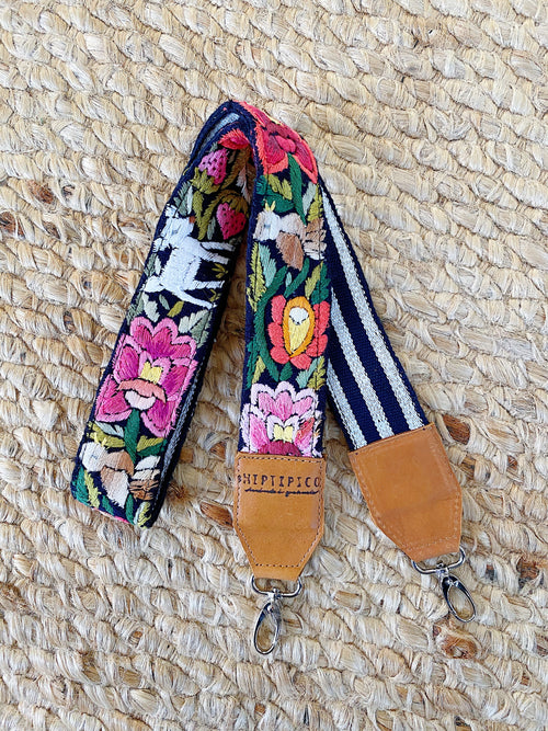 Vintage Embroiderd Bag Strap No. 3