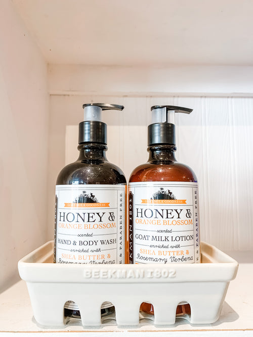 Honey & Orange Blossom Hand Care Caddy