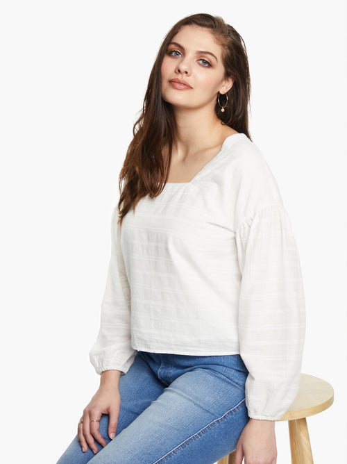 Anita Blouse in White
