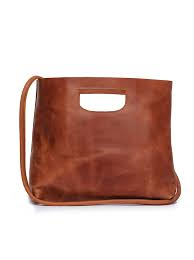 Hana Handbag in Whiskey