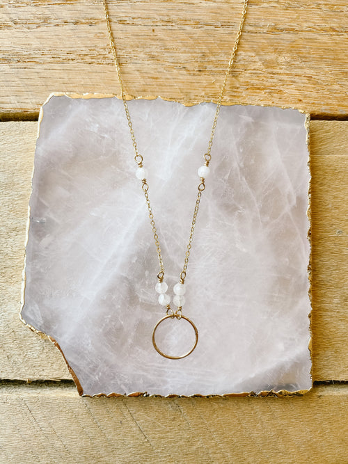 J&J Circle Necklace