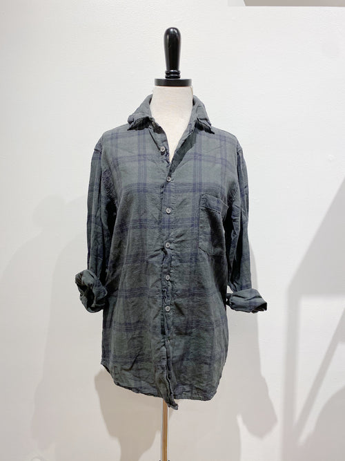 Jack Shirt in Plaid Flannel