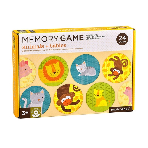 Animals + Babies Memory Games