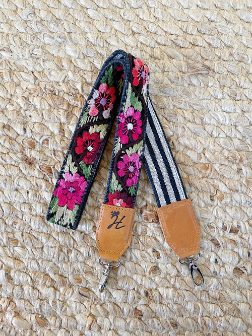 Vintage Embroiderd Bag Strap No. 6