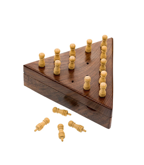 Peg Board Wood Game