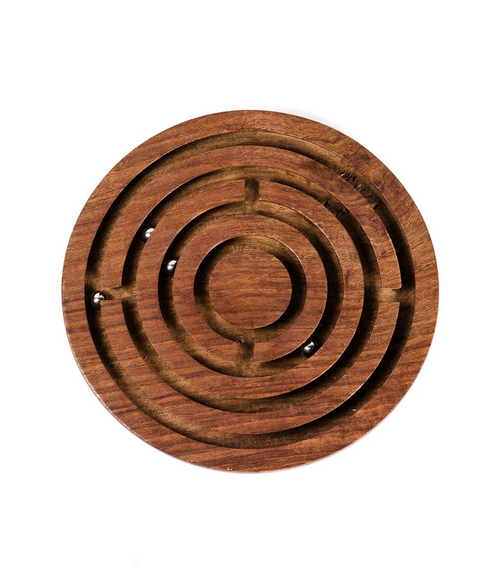 Classic Labyrinth Wood Game