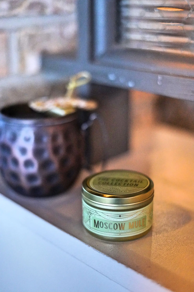 Moscow Mule Travel Tin Candle