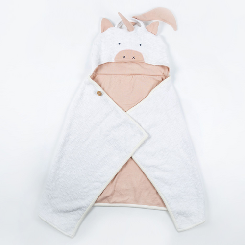 Organic Cotton Unicorn Kids Travel Blanket