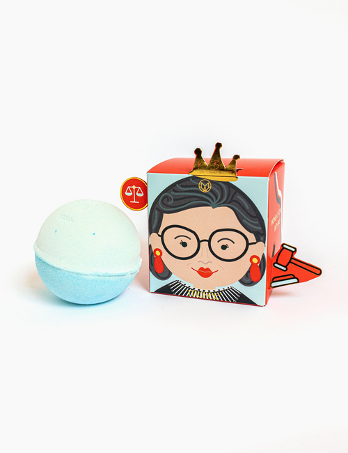 Women of Change Ruth Bader Ginsberg Bath Bomb