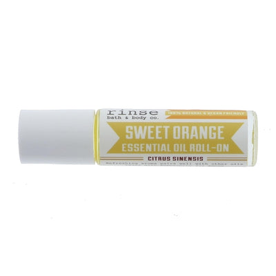 Rinse Sweet Orange Roll On Essential Oil Green Roost Culpeper Virginia Boutique