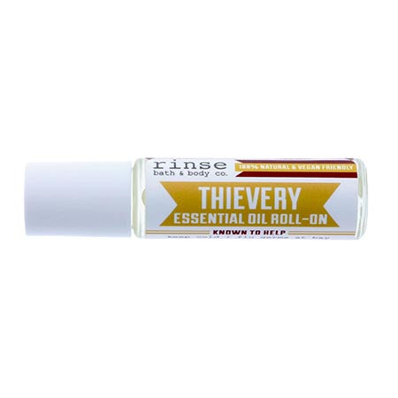 Rinse Soap Co. Thievery Roll On Essential Oil Green Roost Culpeper Virginia Boutique