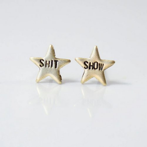 Sh*t Show Stud Earrings