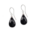 Soul Full of Light Earring in Black Onyx - Stress Relief