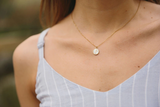 Joyce Mother-of-Pearl Cross Pendant Necklace