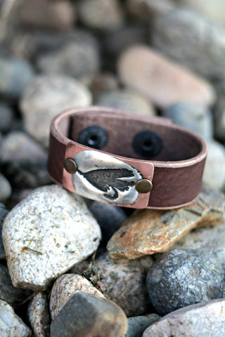 fly fishing jewelry trout fly cuff bracelet