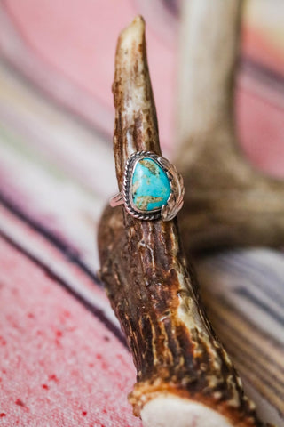 Vintage Southwest Turquoise Ring - Cowgirl Relics