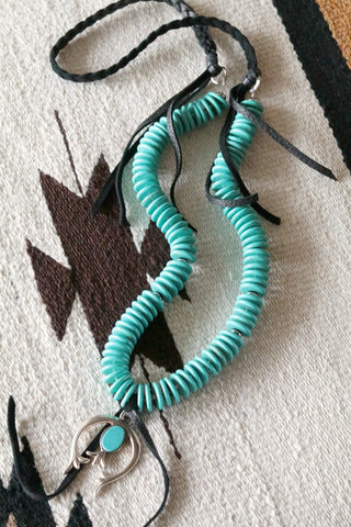 El Cielo Turquoise Southwest Necklace - Cowgirl Relics