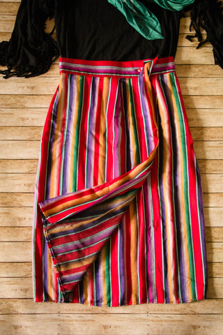 Vintage Serape Skirt - Cowgirl Relics