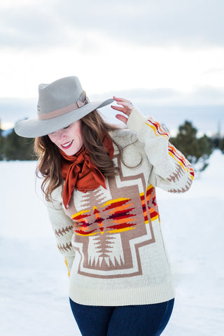 Vintage Pendleton Sweater - Cowgirl Relics