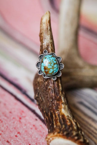Vintage Turquoise Ring - Cowgirl Relics